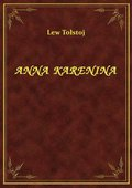 Anna Karenina - tom I - ebook